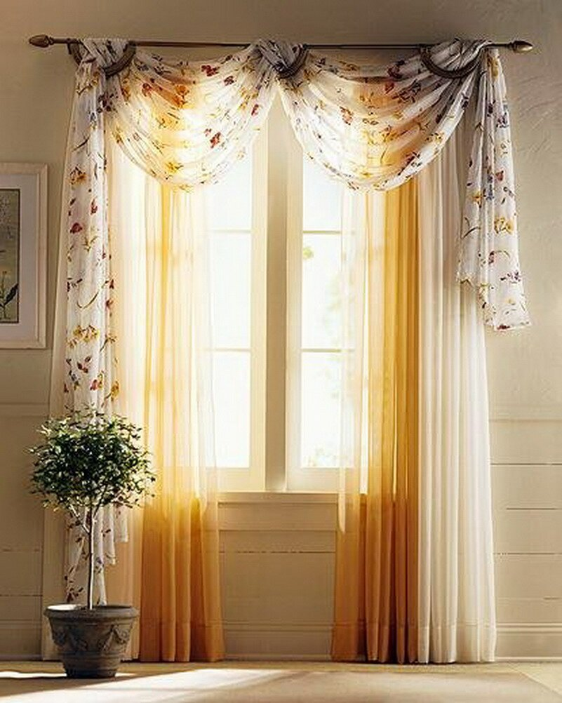 Curtain designs living room - Curtains For Living Room 15
