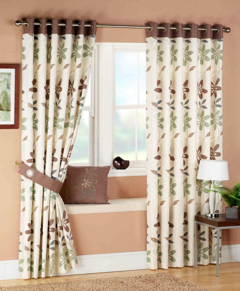Top 22 curtain designs for living room mostbeautifulthings for Curtain design for living room