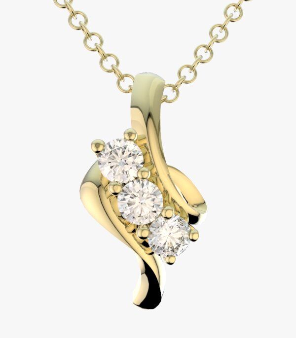 diamond necklaces for women 14