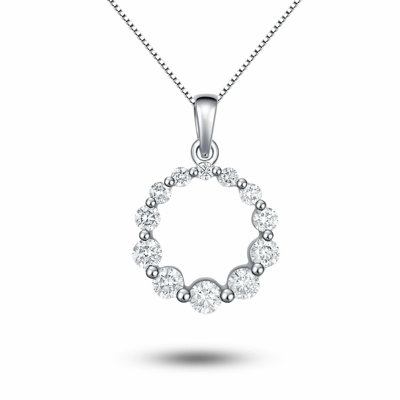 22 Diamond Necklace Designs In Women Dream ...