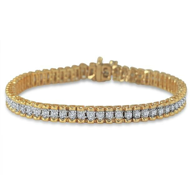 diamond tennis bracelet 15