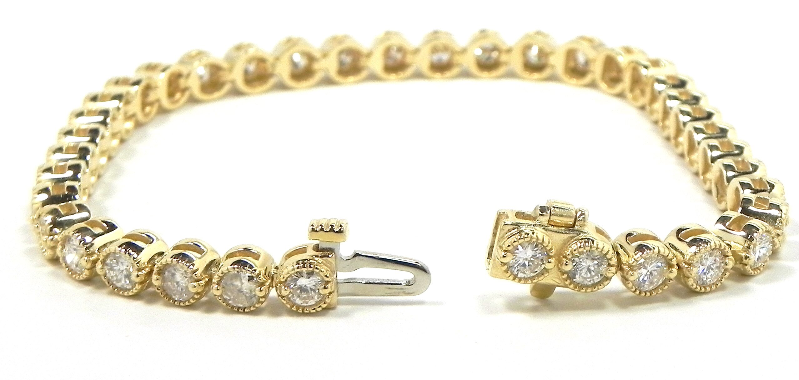 jewels fullxfull art vintage bracelet gold tennis diamond r nouveau deco white product il j