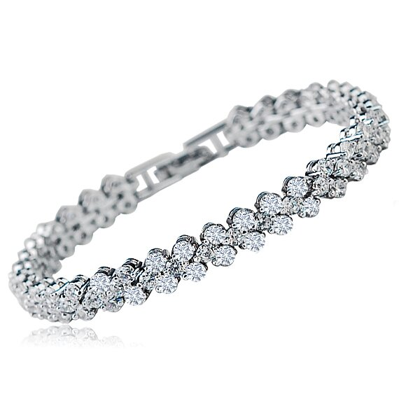 diamond tennis bracelet 18