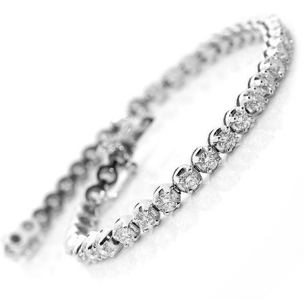 diamond tennis bracelet 19