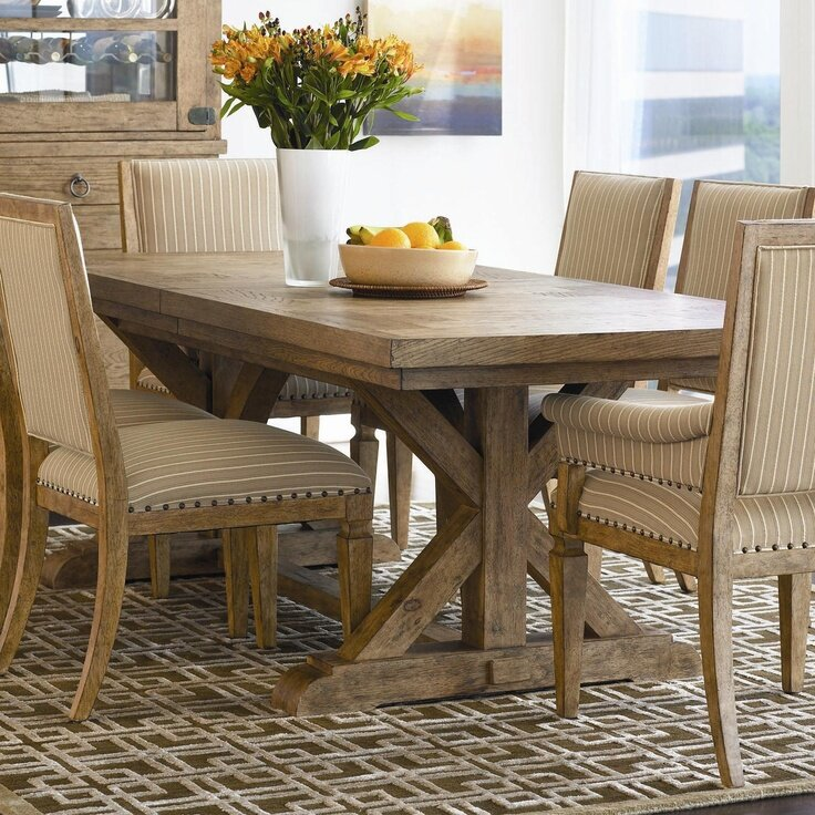 Most beautiful dining tables a beautiful vibrant our for Most beautiful dining rooms