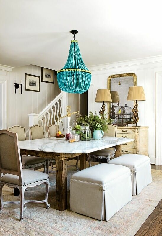 23 inspiring dining room table designs and ideas for Most beautiful dining room tables