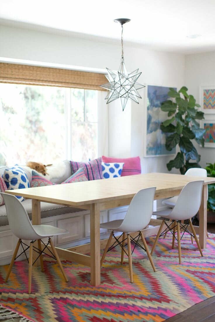 23 inspiring dining room table designs and ideas for Most beautiful dining rooms