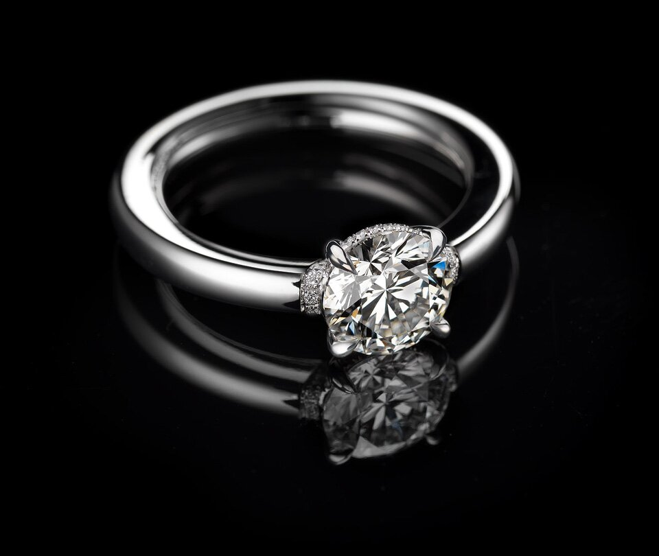 photo rings cut pinterest round diamonds engagement and nice x of awesome cushion on