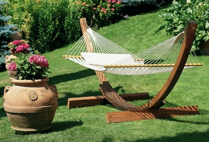 The 24 most beautiful garden accessories mostbeautifulthings - Hamacas de jardin ...
