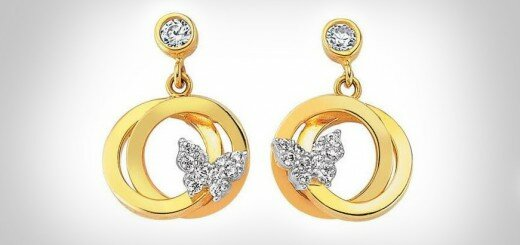 gold earrings designs 17