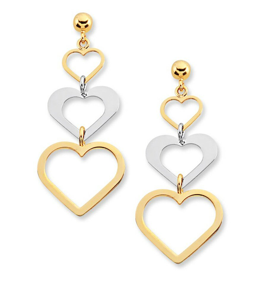 15 perfect gold earrings designs mostbeautifulthings
