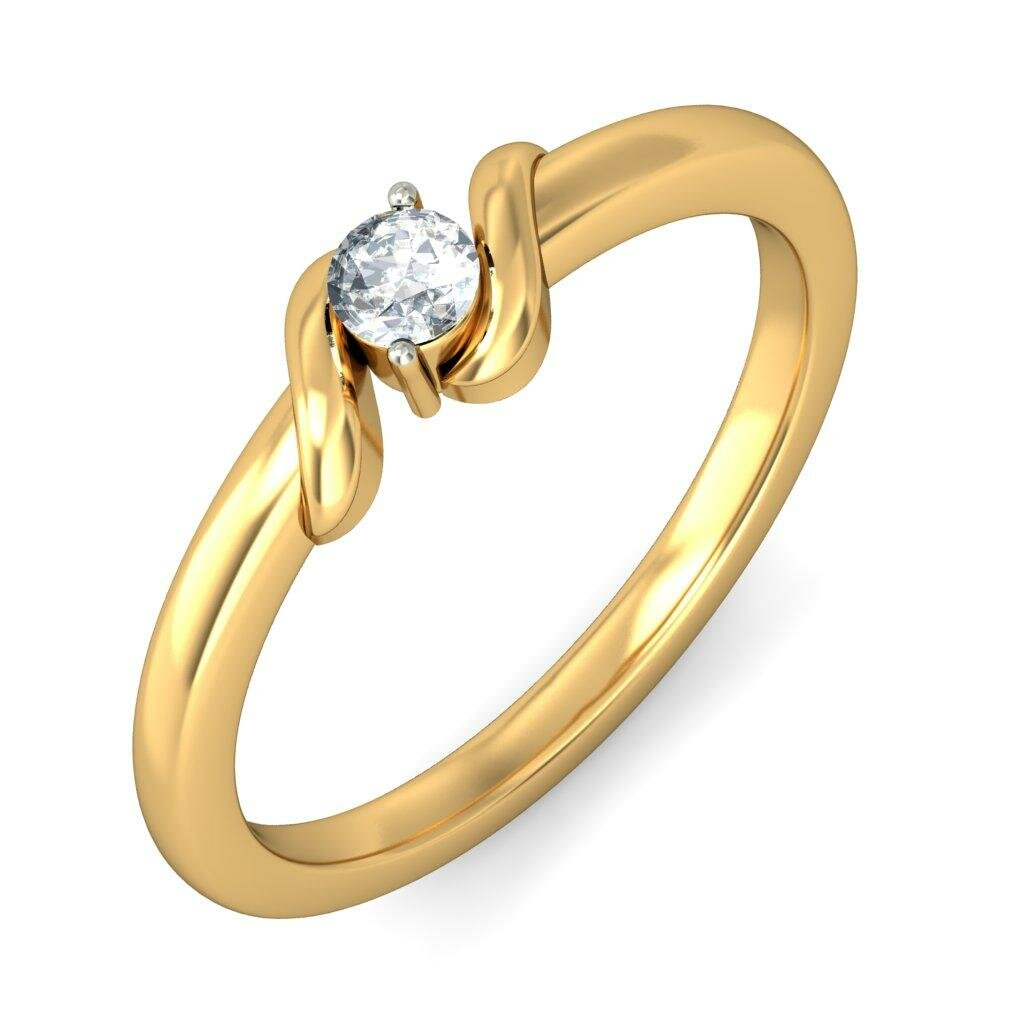 Beautiful Simple Gold Rings