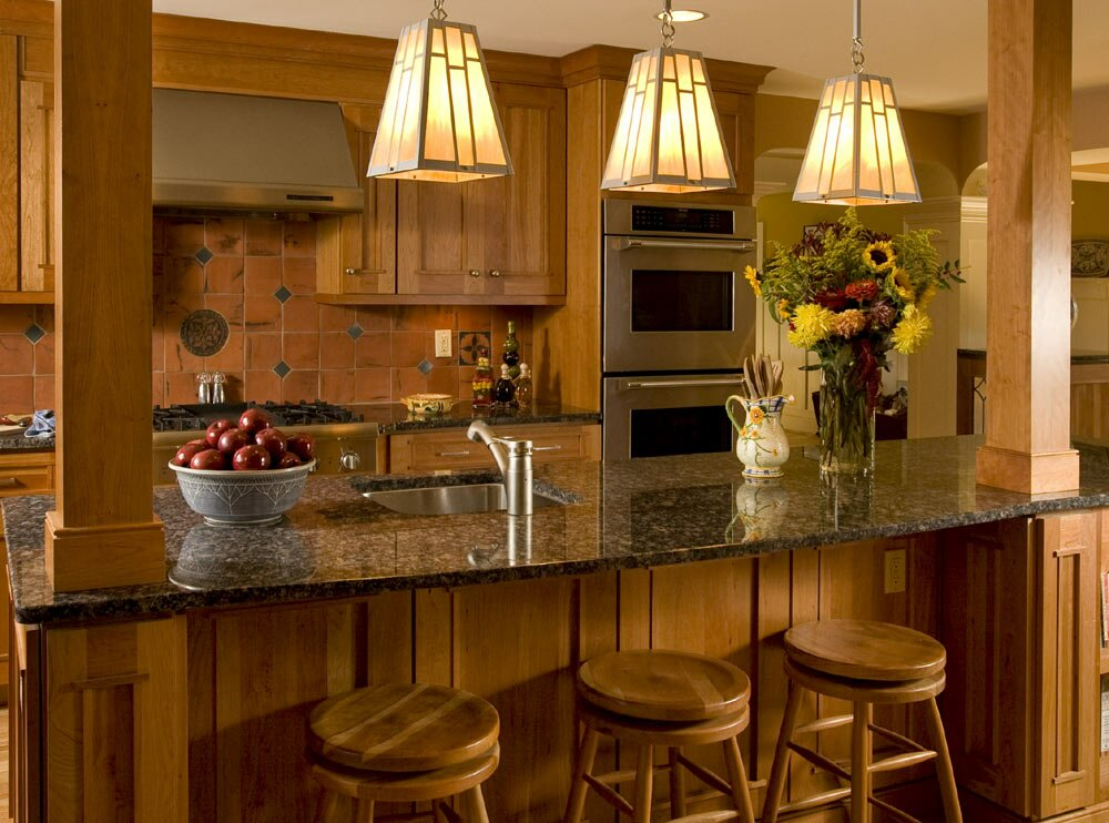 Inspiring kitchen lighting ideas in 21 pics for Kitchen decorating ideas pictures