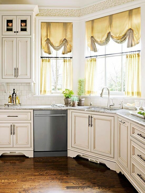 Kitchen window curtain ideas - Curtain for kitchen door ...