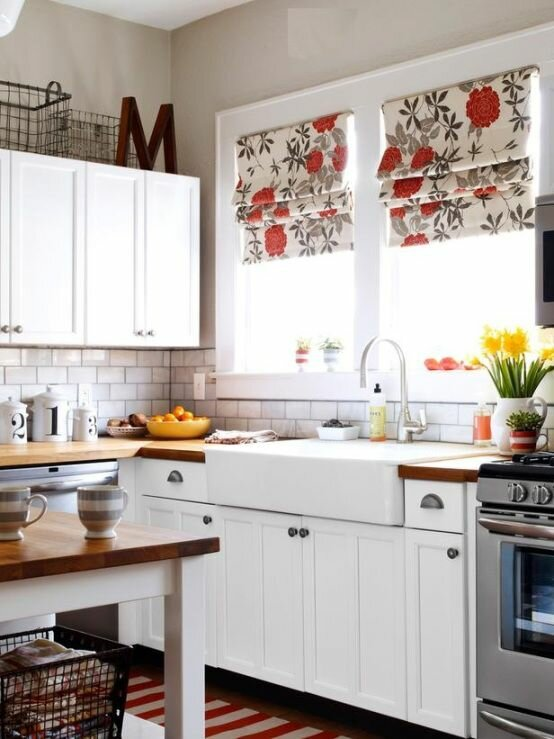 19 inspiring kitchen window curtains mostbeautifulthings for Kitchen window curtains