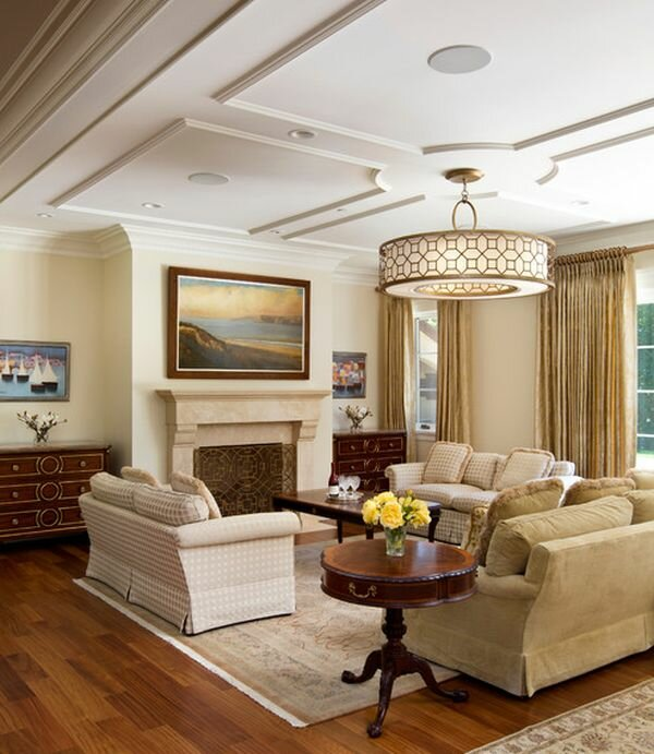 Top 18 living room ceiling light designs mostbeautifulthings for Lighting living room ideas