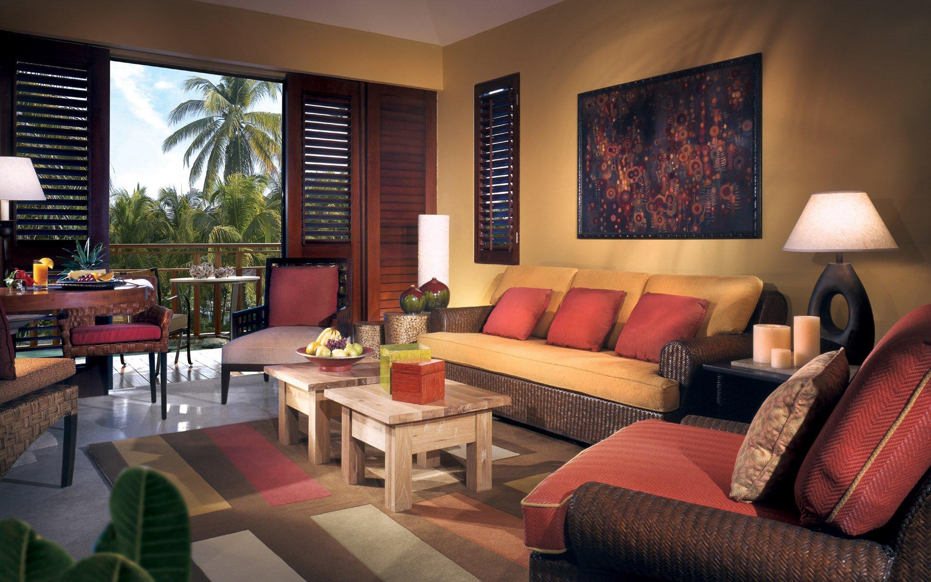 Tropical Living Room Decorating 21 Samples Of Decorative Living Room Furniture Sets