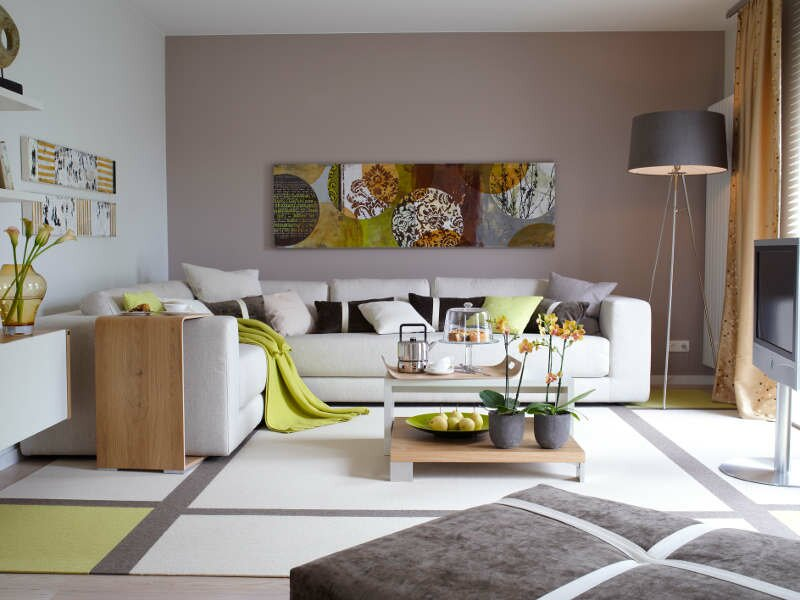 The 16 best living room wall decor examples mostbeautifulthings - Farben wohnzimmer wand ...
