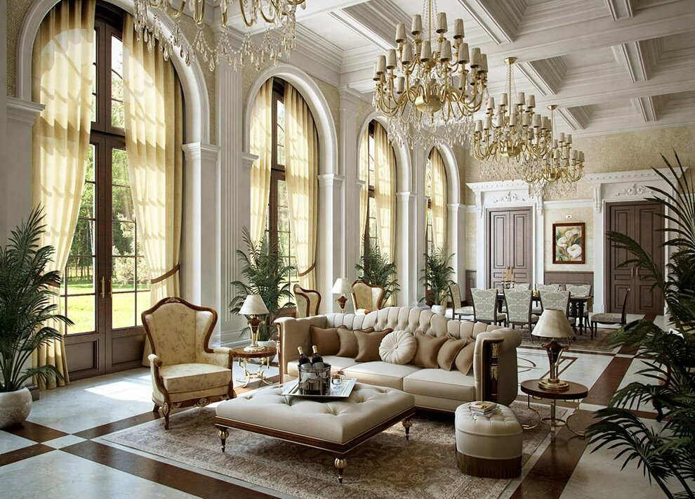 luxury interior design 1 & Top 21 Luxury Interior Design Examples | MostBeautifulThings