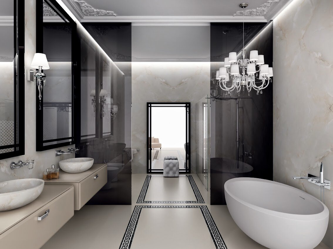 Top 25 modern bathroom design examples mostbeautifulthings for Bathroom examples