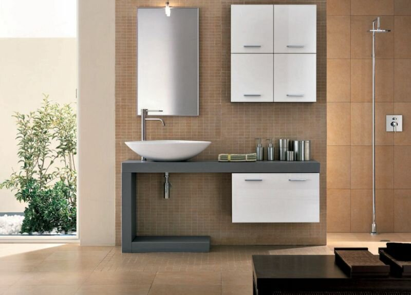 Top 23 designs of modern bathroom vanities - Foto mobili bagno ...