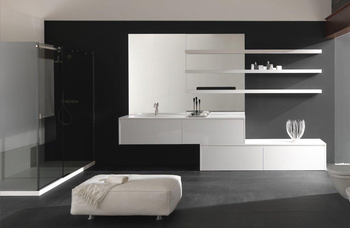 Top 23 designs of modern bathroom vanities mostbeautifulthings - Modern bathroom cabinets ...