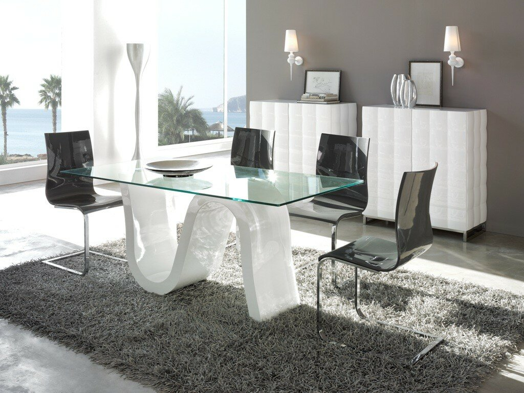23 modern dining room examples with photos for World s most beautiful dining rooms