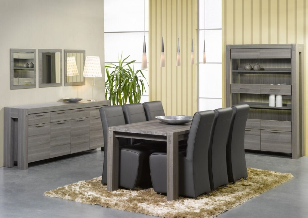 23 modern dining room examples with photos. Black Bedroom Furniture Sets. Home Design Ideas