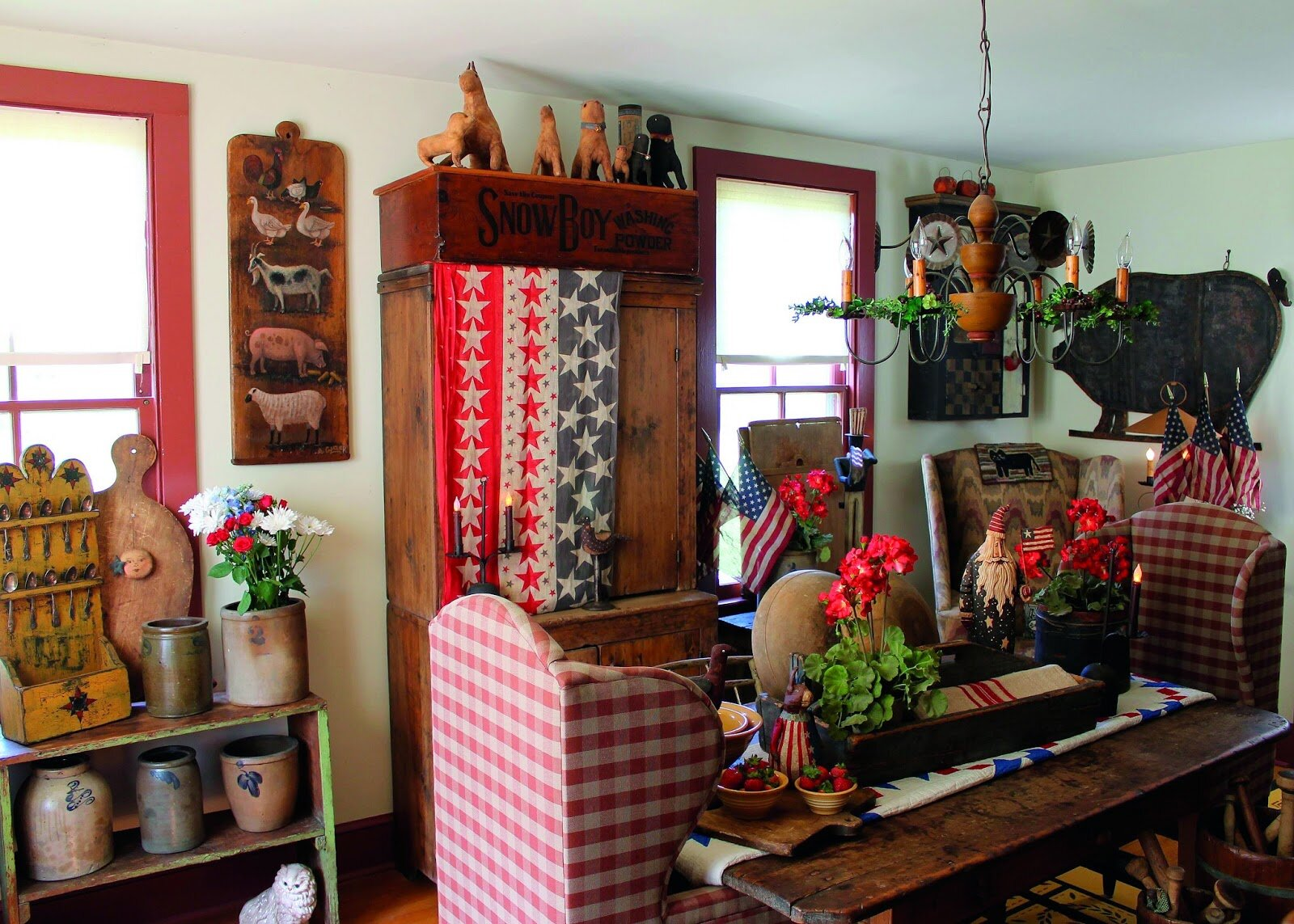 20 Inspiring Primitive Home Decor Examples