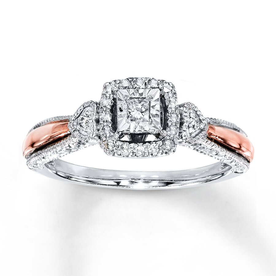 princess cut diamond rings 1