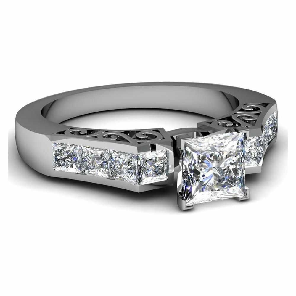 princess cut diamond rings 10
