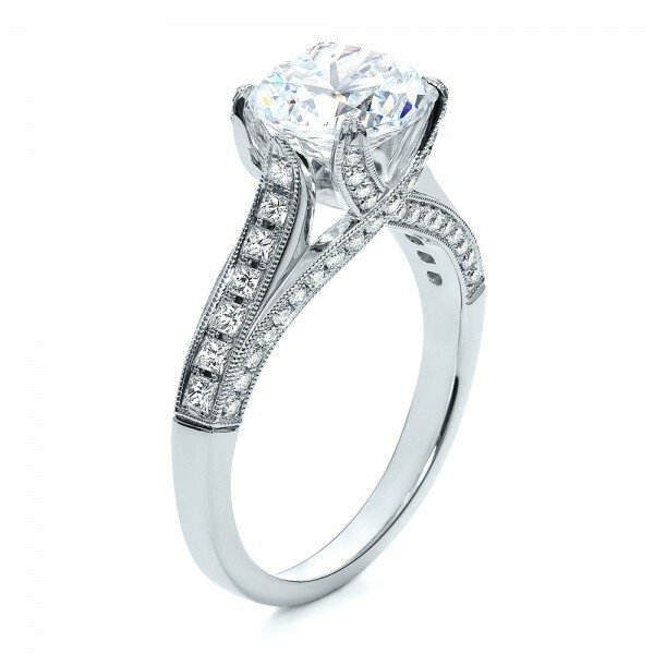 princess cut diamond rings 12