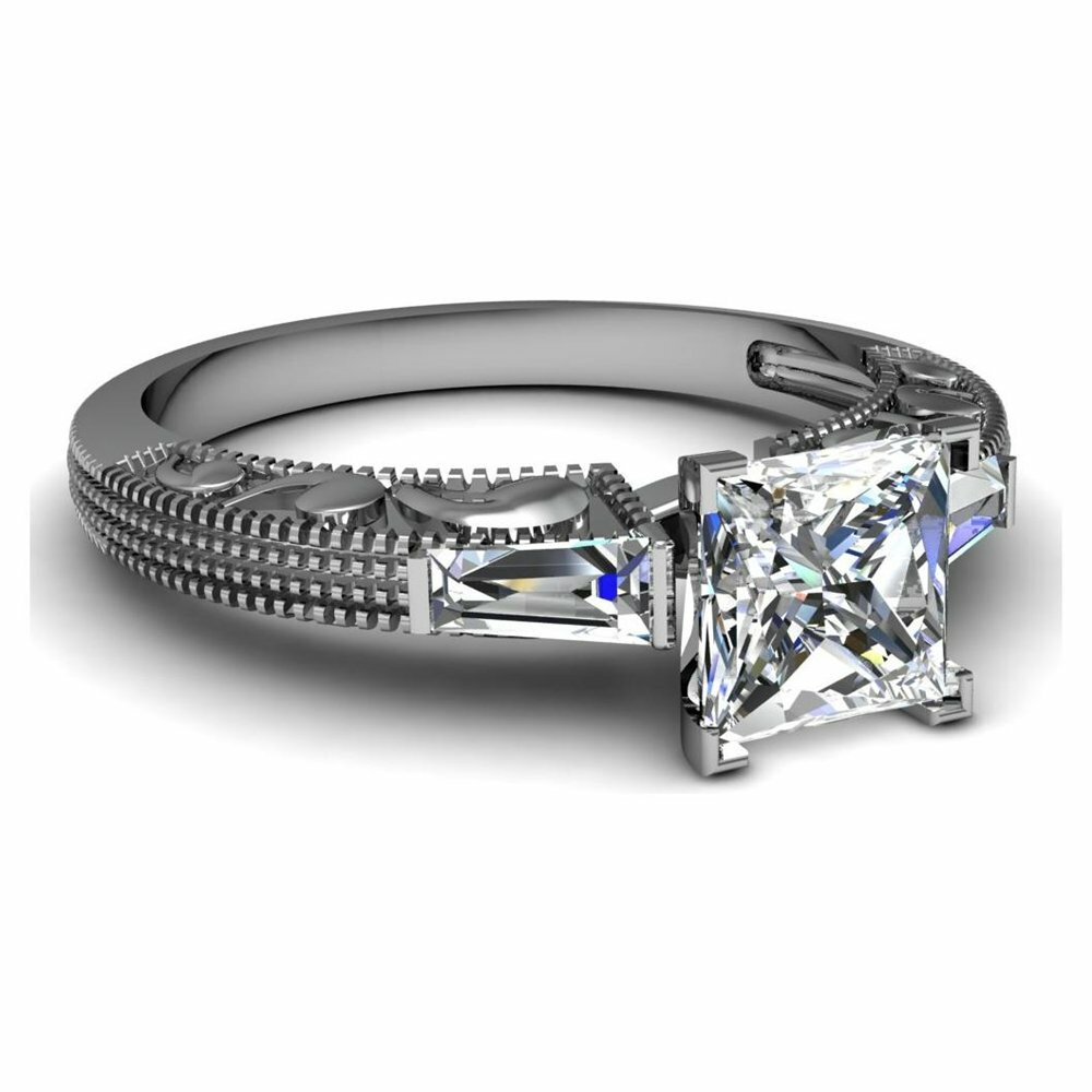 princess cut diamond rings 14