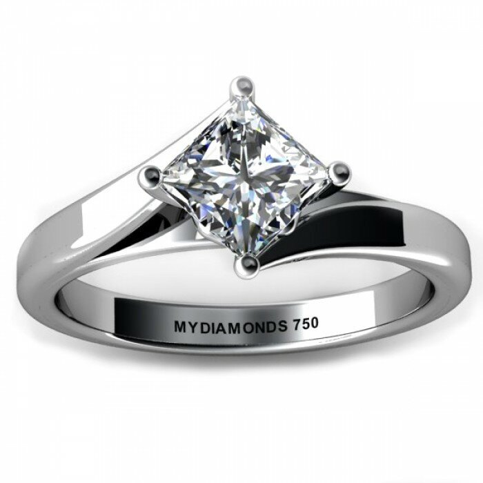 princess cut diamond rings 15