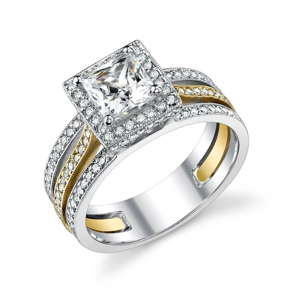 princess cut diamond rings 2