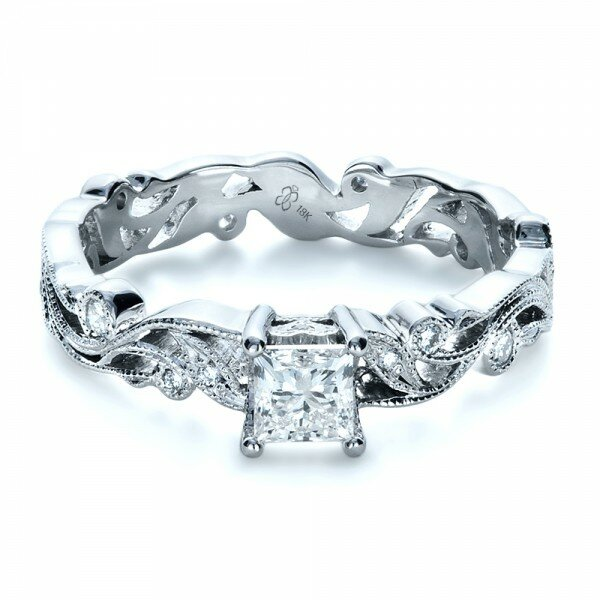 princess cut diamond rings 8