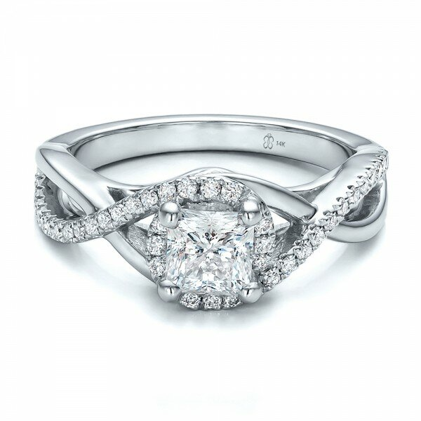 princess cut diamond rings 9