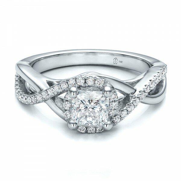 princess cut diamond rings 9