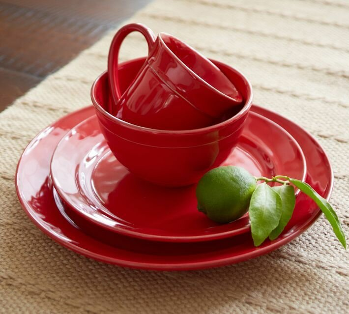 11 kitchen decors with using red accessories   mostbeautifulthings