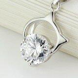 single diamond necklace 21