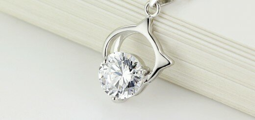 single diamond necklace 21