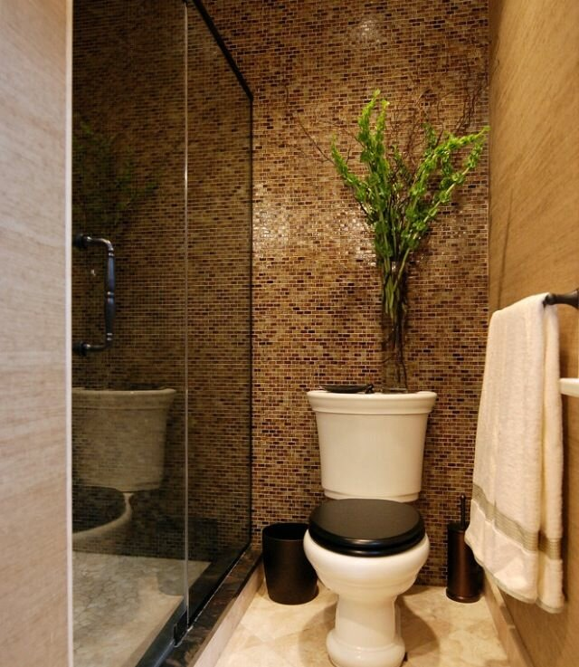 17 small bathroom ideas with photos mostbeautifulthings for Tiny toilet ideas