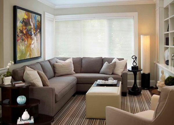 Top 21 small living room ideas and decors for Small apartment living room interior design