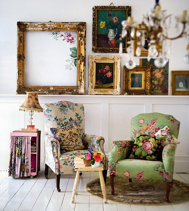 Top 23 vintage home decor examples mostbeautifulthings for Vintage home decor