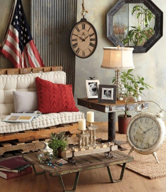 Top 23 vintage home decor examples mostbeautifulthings for Home decorations images