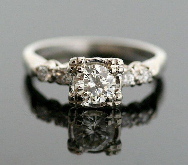 top 15 designs of vintage wedding rings mostbeautifulthings On antique wedding rings