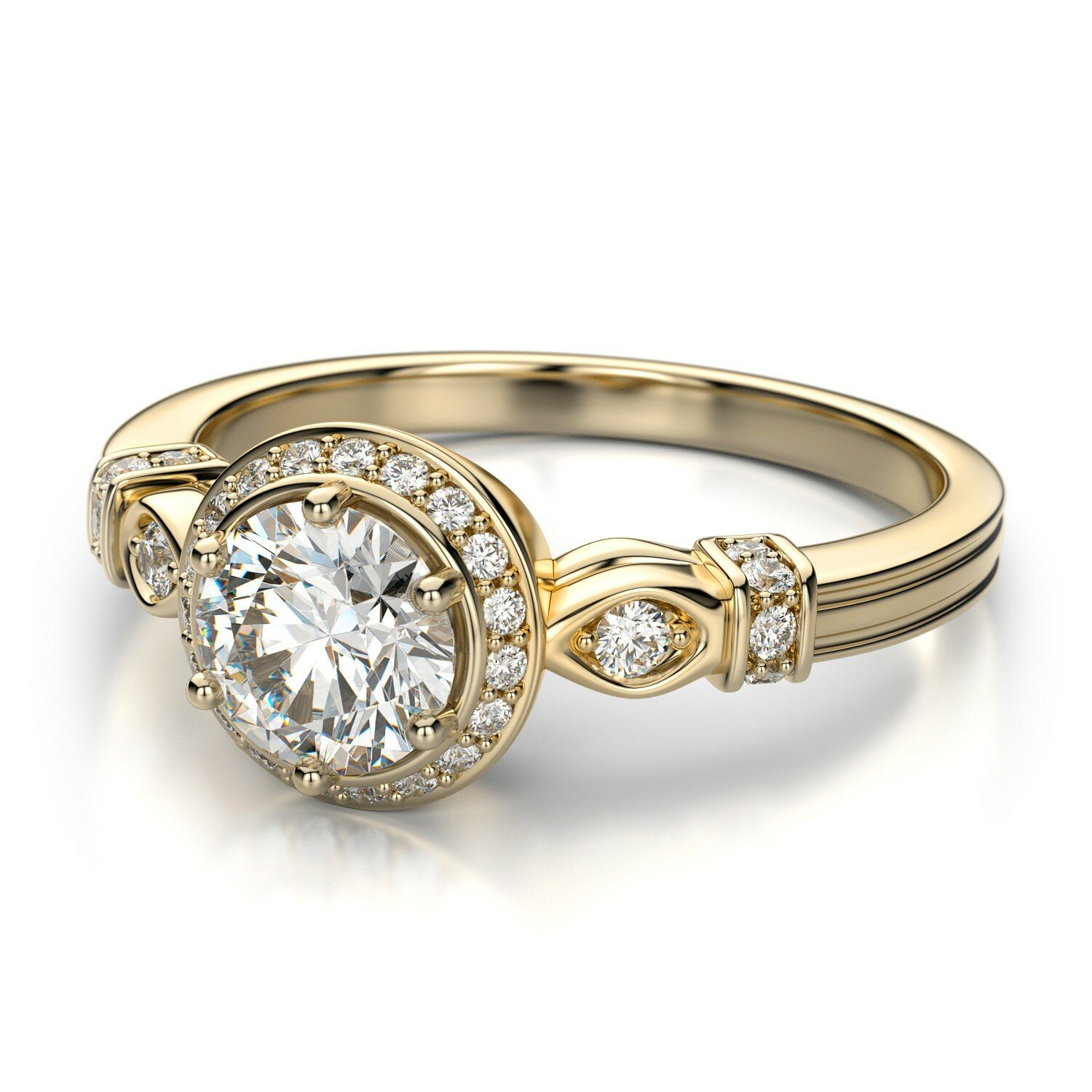 top 15 designs of vintage wedding rings mostbeautifulthings With vintage wedding rings