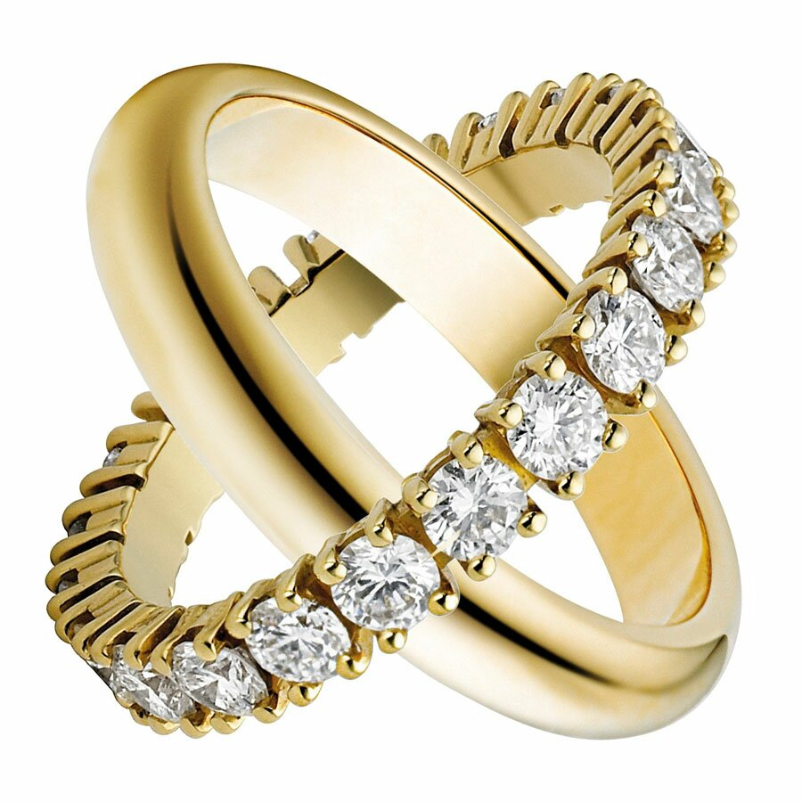 rings have generally been exchanged for many years as symbols of