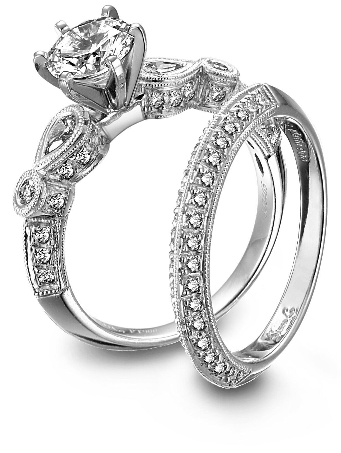 15 examples of brilliant wedding rings mostbeautifulthings for Wedding rings and bands