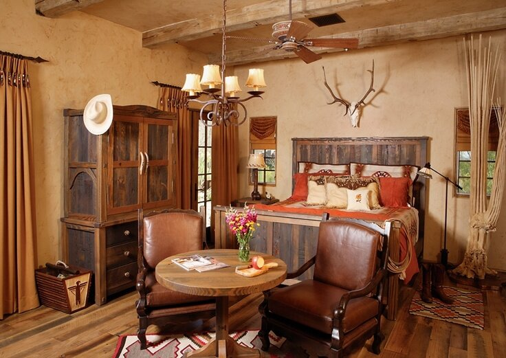 Western home decor ideas in 22 pics mostbeautifulthings for Home decoration pics